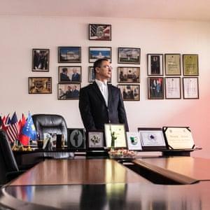 Agim Rexhepi, president of the Association of Friends of America in Kosovo