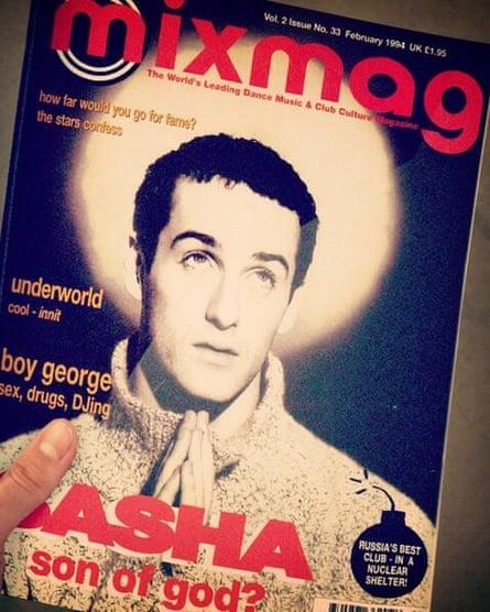 DJ Sasha on the cover of Mixmag