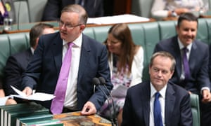 Anthony Albanese, left, and others within the party are unhappy with the metadata legislation.
