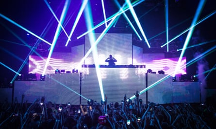The Sweetlife EDM festival in Maryland, 2015.