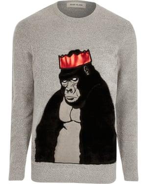 Bored of reindeer? How about a Christmas gorilla instead, £30 riverisland.com