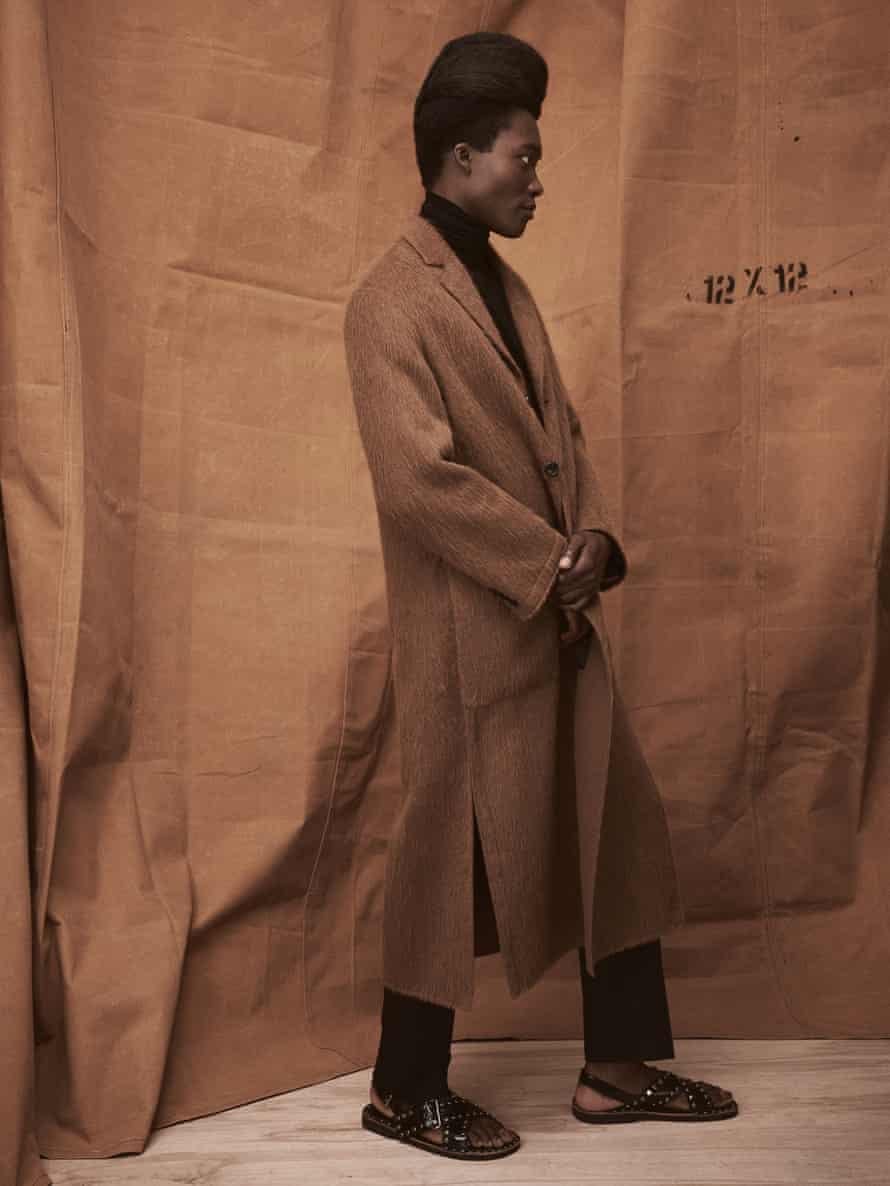 """""""I was the one who looked different, with everyone else wearing jeans"""": Benjamin Clementine."""