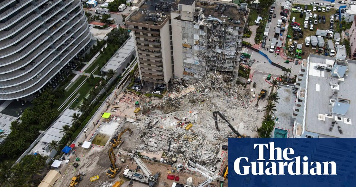 Miami firefighter's daughter found dead in condo rubble as toll rises to 20