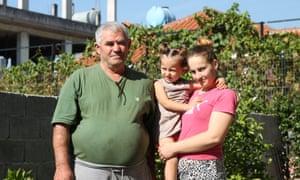 Ismail Veizi and his family