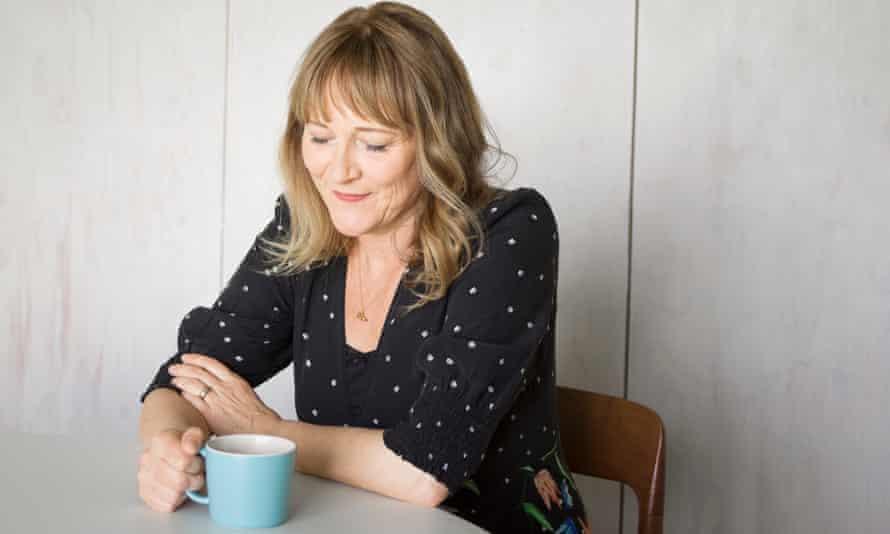 Tea and sympathy: Jill Dawson.