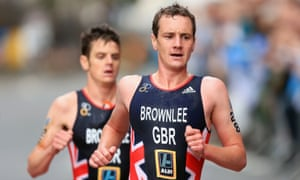 Triathletes Alistair and Jonny Brownlee: 'Six weeks ago we were preparing for Tokyo. Now everything's changed.'