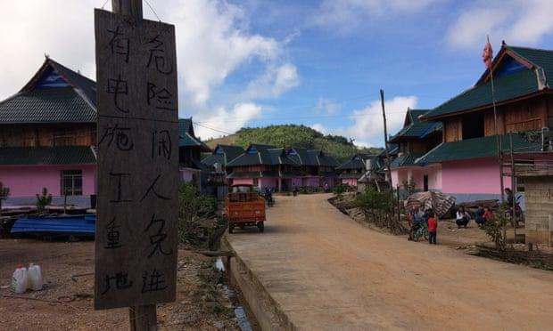 New homes in Padangshang.