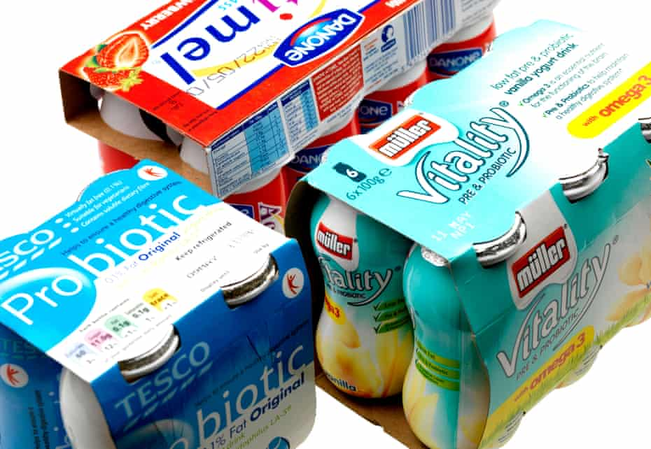 While probiotic products such as milk and yoghurt-based drinks could help those with disease-associated imbalances of the gut microbiota, there was little to suggest they helped healthy individuals.