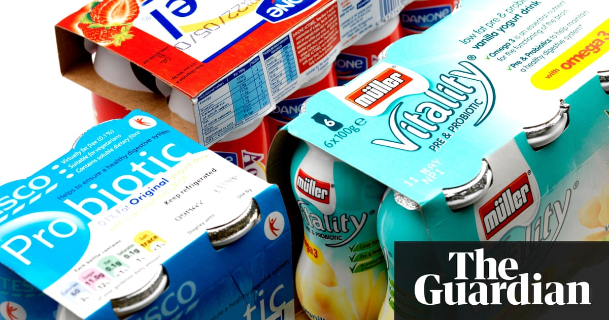 Probiotic goods a 'waste of money' for healthy adults, research suggests