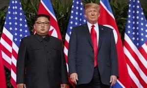 """Donald Trump and Kim Jong Un"""