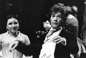 1984 As Platonov in Michael Frayn's Chekhov adaptation Wild Honey at the Lyttelton in London, with Heather Tobias as Sasha