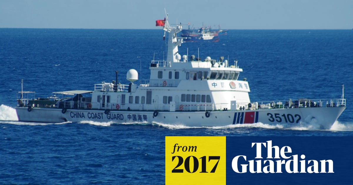 6b2461fd738a2 Chinese patrol ships keep presence around Malaysian reefs