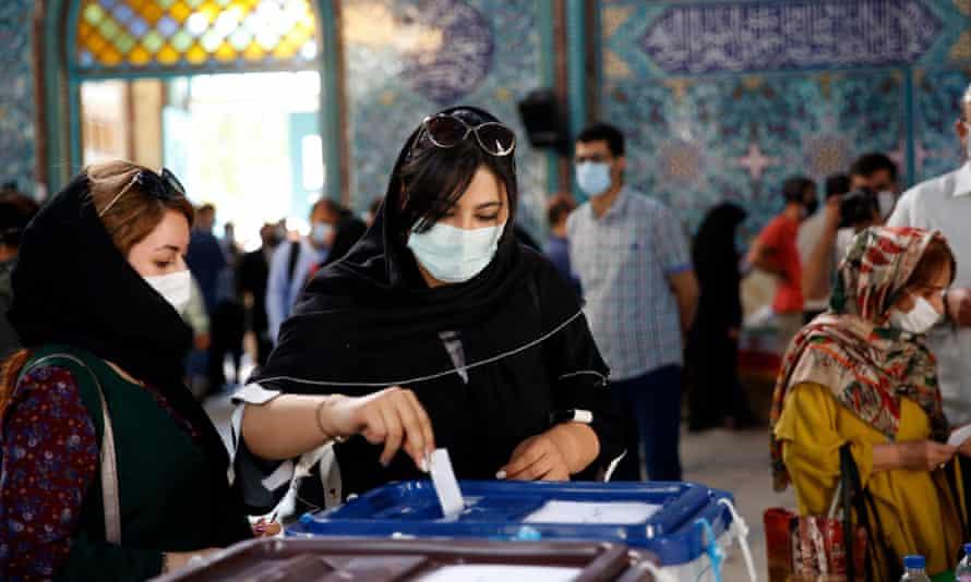 Hardliner Ebrahim Raisi hailed as Iran's new president | Iran | The Guardian