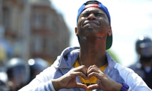 baltimore protestor heart