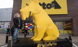 Opening of the first Netto UK store today in Moor Allerton, Leeds