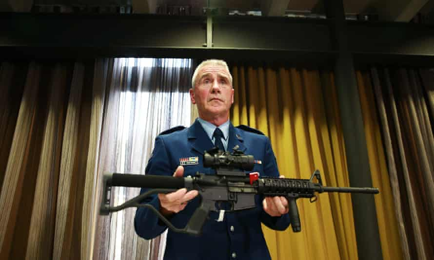New Zealand has banned all military style semi-automatics and assault rifles