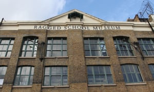 The Ragged School museum is housed in an old canalside warehouse.