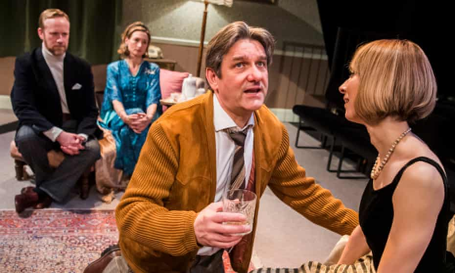 The fling's the thing … Peter Prentice, Annabel Mullion, Tim Welton and Alix Dunmore in Bodies.