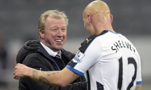 Jonjo Shelvey and Steve McClaren