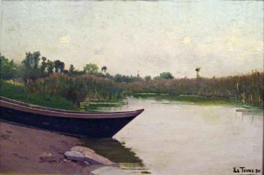 An untitled work by Étienne Terrus from 1890