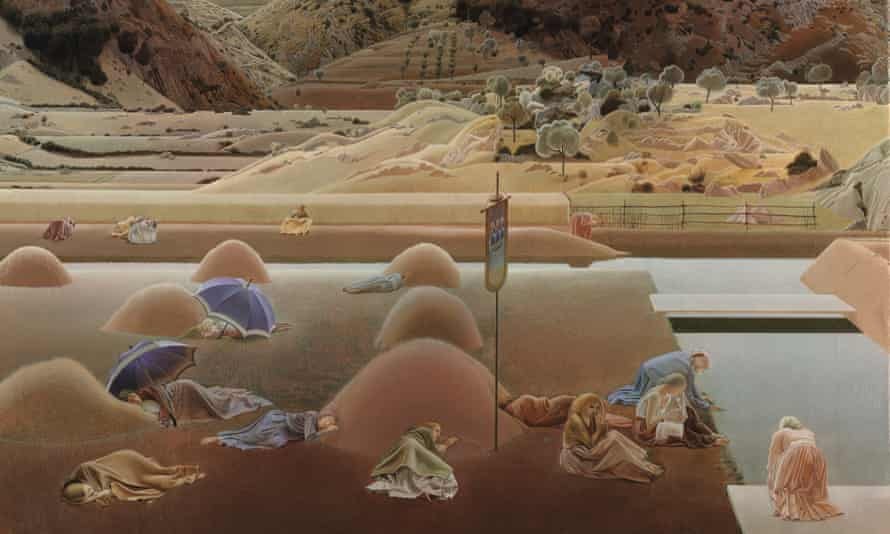 A detail from Winifred Knights's Santissima Trinita (c1924). © The Estate of Winifred Knights Winifred Knights