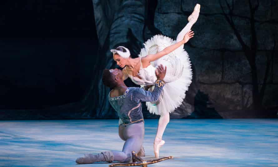 As Odette in Swan Lake in 2015 for the Washington Ballet.