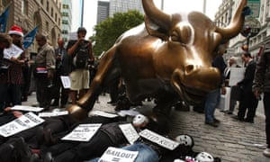 The 2008 financial crash led protesters to denounce the capitalist system.