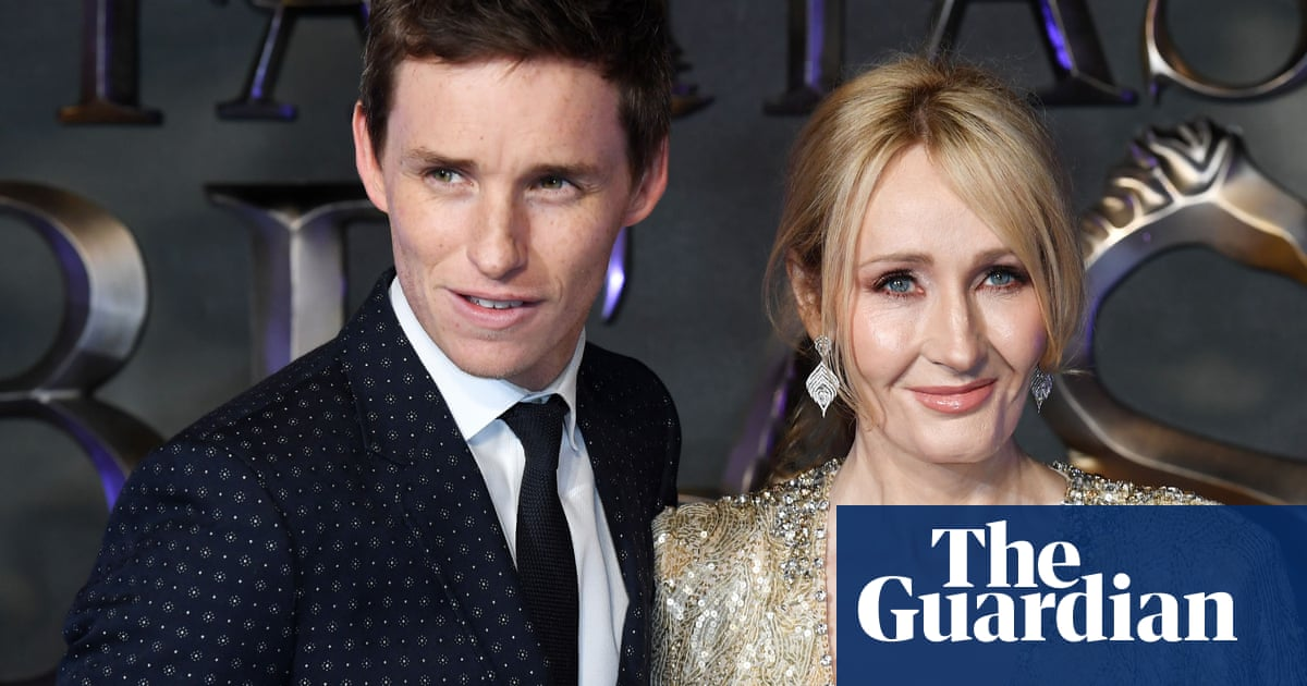 Eddie Redmayne condemns 'vitriol' aimed at JK Rowling after her trans rights comments