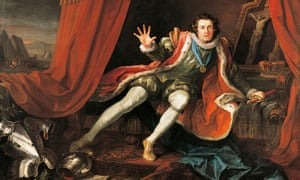 David Garrick in the title role of Richard III, by William Hogarth.