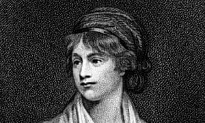Mary Wollstonecraft, 18th-century writer and feminist.