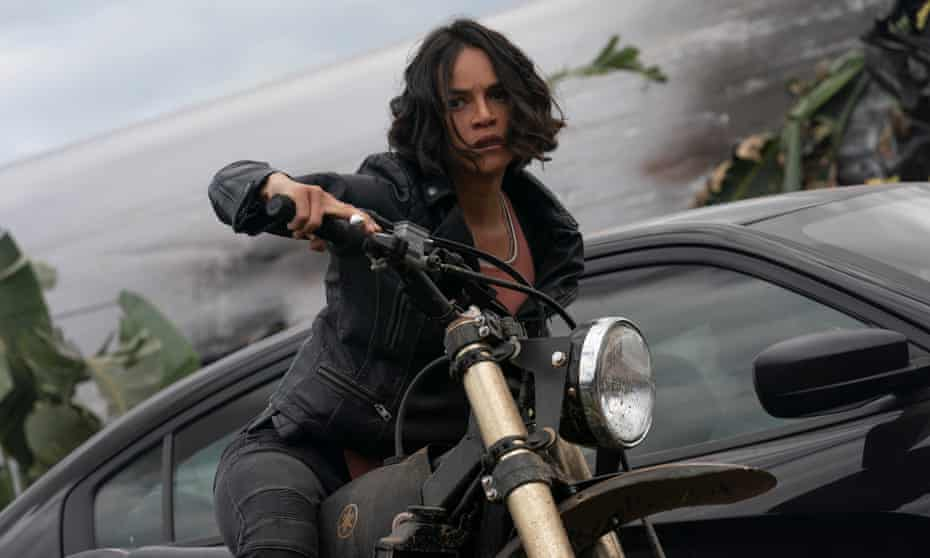 Michelle Rodriguez as Letty Fast & Furious 9