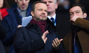 Ed Woodward, Manchester United's executive vice-chairman.