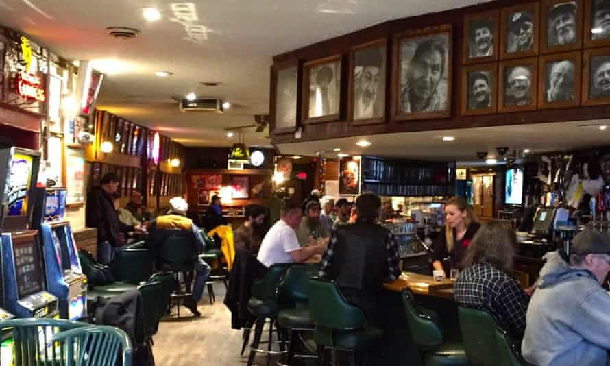 Charlie B's bar in Missoula, Montana