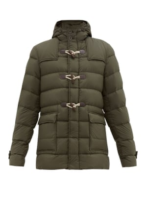 Quilted down jacket, £710, by Herno, from matchesfashion.com
