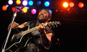 Toots Hibbert performing with the Maytals in Portland, Oregon, in 2010.