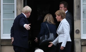 "'I don't think I said: ""Put your arm down.""' The incident outside Bute House."