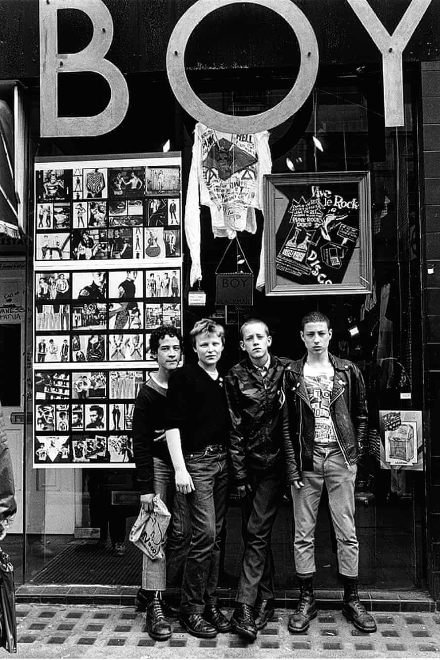 'I just loved the whole aesthetic': Boy, Kings Road, London, 1979.