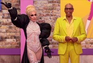 Lady Gaga on RuPaul's Drag Race