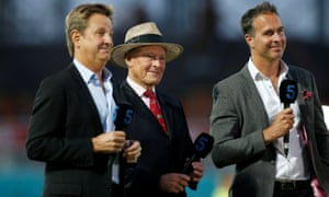 Geoffrey Boycott (centre) was not expected to be a regular commentator for BBC Test Match Special this summer because of the Covid-19 pandemic.