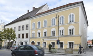 The current exterior of the house where Adolf Hitler was born.