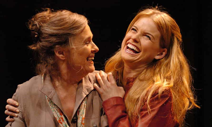 Sinead Cusack, left, and Alice Eve in Rock'n' Roll at the Royal Court, London, 2006.