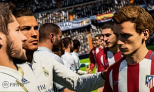 A still from best-selling computer game Fifa 18