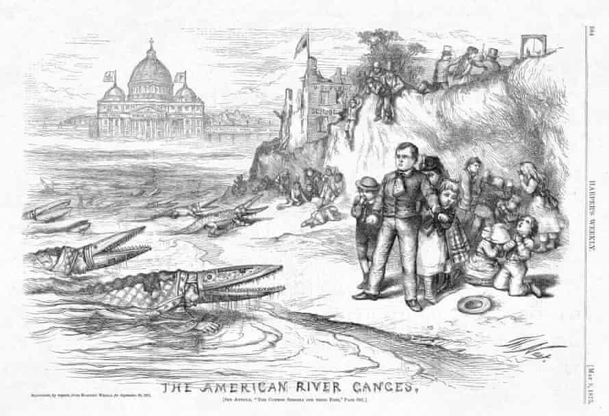 anti-Catholic cartoon 1875