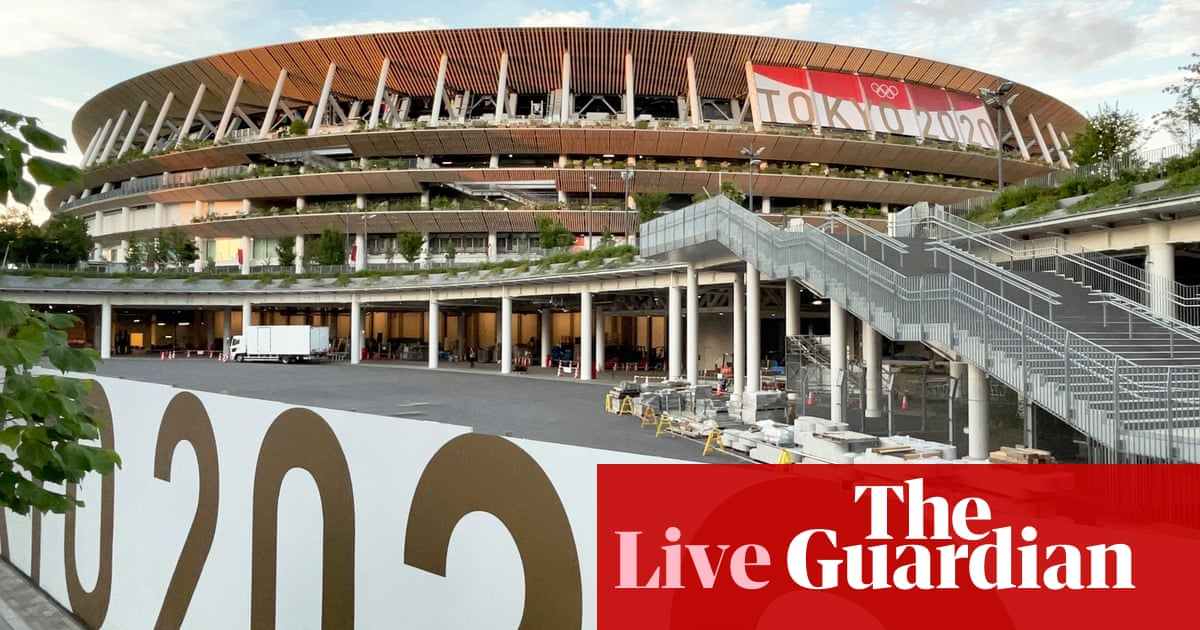 Tokyo Olympic Games 2020: build-up to the opening ceremony – live!