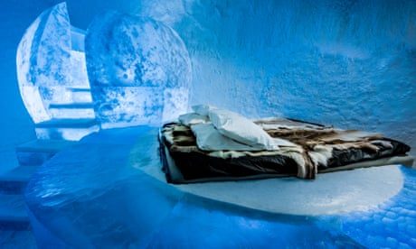 Nights on ice in Sweden's Arctic wonderland