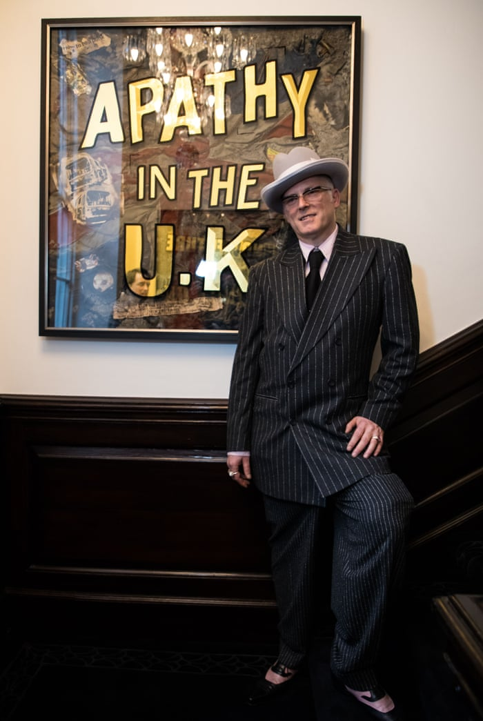 4d2302c9f56 Joe Corré on his £5m punk ashes – and Malcolm McLaren's death mask | Art  and design | The Guardian