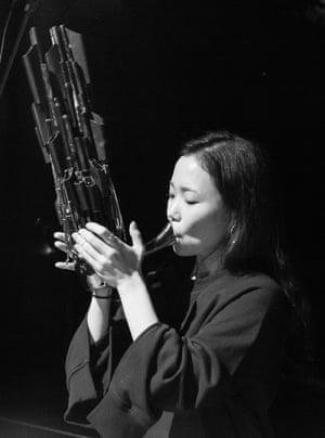 Korean musician Park Jiha.