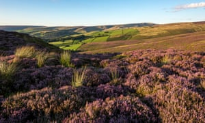 The hills above Glossop, Derbyshire, in the foothills of the Pennines