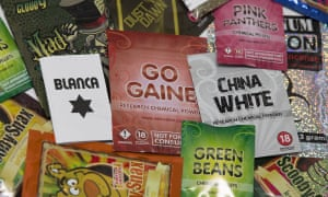 A selection of legal highs