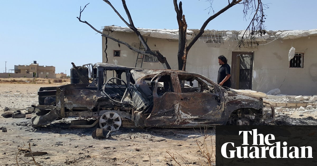 Twin car bombs kill dozens outside mosque in Benghazi